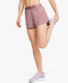 Shorts UA Play Up 3.0 Twist para Mujer