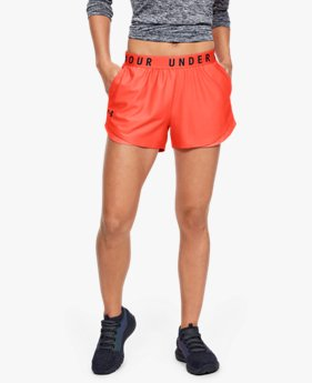 Shorts UA Play Up 3.0 Twist Inset para Mujer