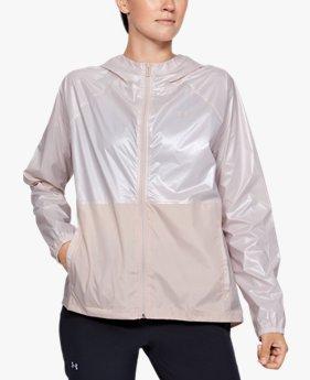 Women's UA Metallic Woven Full Zip