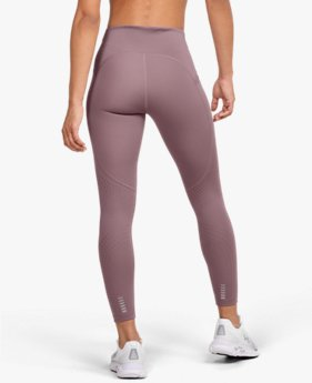 Leggings UA Qualifier Speedpocket Perforated Crop da donna
