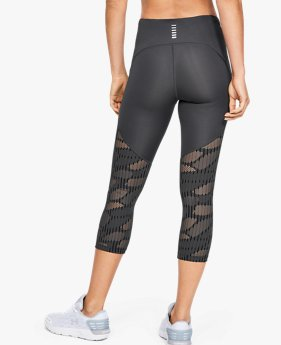Legging court UA Fly Fast Rising Thread pour femme