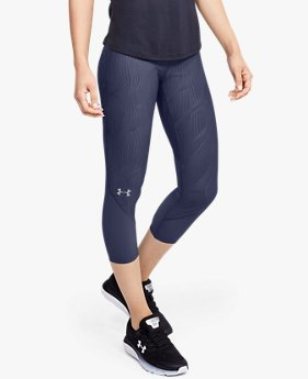 Women's UA Fly Fast Jacquard Crop