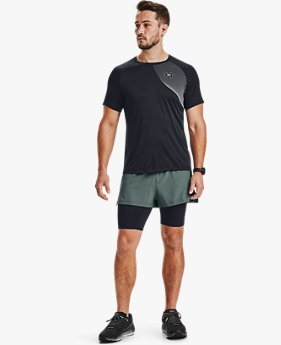 Shorts UA RUSH™ Run 2-in-1 para Hombre
