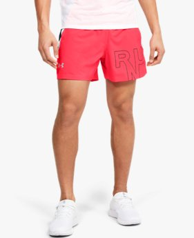 Men's UA Launch SW Branded 5'' Shorts