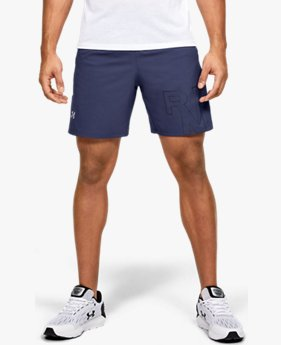 Short UA Launch SW Branded 18 cm pour homme