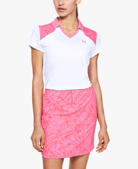Women's UA Zinger Blocked Polo