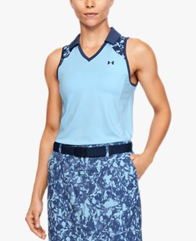 Women's UA Zinger Sleeveless Blocked Polo