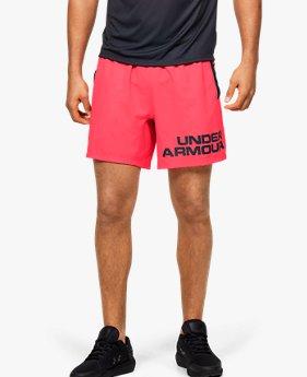 Men's UA Speed Stride Graphic 18 cm Shorts