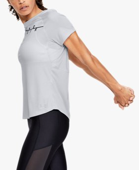 Women's UA Speed Stride Wordmark Short Sleeve