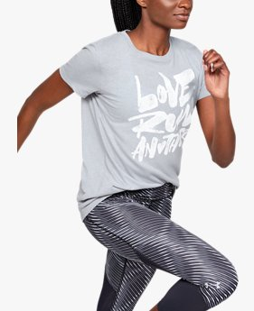 Camiseta Feminina UA Love Run Another