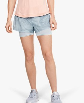 Damesshorts UA Speedpocket Weightless 2-in-1