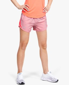 Damen UA Fly-By 2.0 Shorts