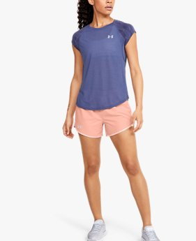 Short UA Fly-By 2.0 da donna
