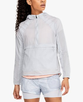 Chaqueta plegable UA Qualifier Weightless para mujer
