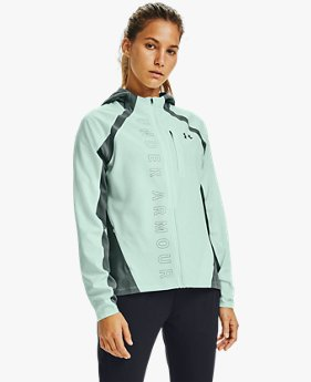 Damen UA Qualifier OutRun The Storm Jacke