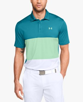 Men's UA Playoff Polo Colorblock