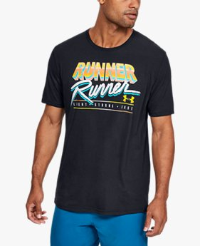 Men's UA Runner Runner Short Sleeve