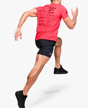 T-shirt UA Get Out & Run pour homme