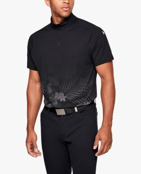 Men's UA Range Unlimited Zip Polo