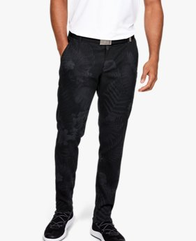 Men's UA Range Unlimited Slim Taper Printed Trousers