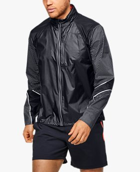 Herren UA Run Impasse Wind Reflect Jacke