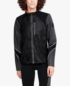 Chaqueta UA Run Impasse Wind Reflect para mujer
