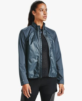 Damen UA Run Impasse Windjacke