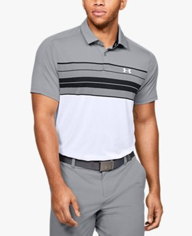 Men's UA Vanish Chest Stripe Polo