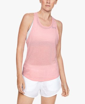 Women's UA Streaker White Out Tank