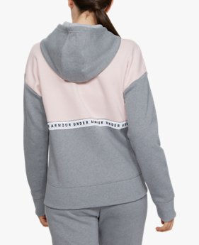 Women's UA Originators Fleece LC Logo Full-Zip Hoodie