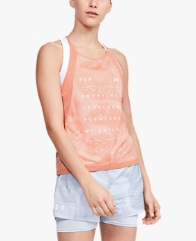 Women's UA Qualifier Iso-Chill Weightless Tank