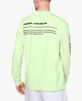 Men's UA Always On Graphic Long Sleeve