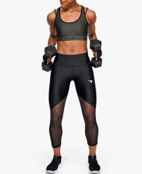 Dameslegging Project Rock HeatGear® Armour Mesh Ankle Crop