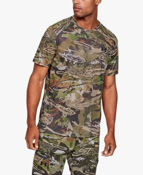 Men's UA Iso-Chill Brush Line Short Sleeve