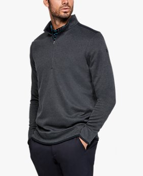 Herren UA Storm Crestable Fleece-Sweater