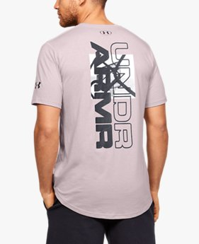 Camiseta de Basquete Masculina Under Armour Baseline Photoreal