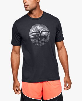 Camiseta de Basquete Masculina Under Armour SC30™ Logo