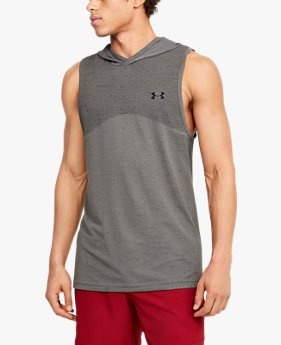 Men's UA Seamless Sleeveless Hoodie