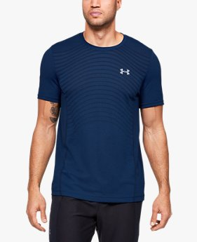 Camiseta de Treino Masculina Under Armour Seamless Wave