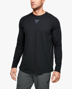Men's Project Rock Charged Cotton® Long Sleeve