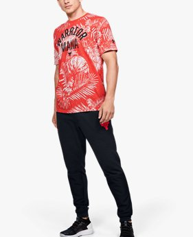 Men's Project Rock Aloha Camo Short Sleeve