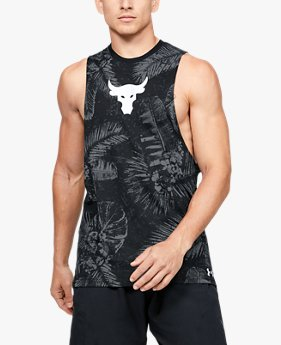 Men's Project Rock Aloha Camo Tank
