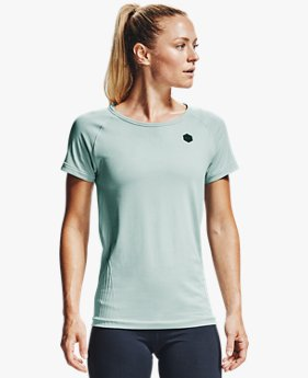 Women's UA RUSH™ Seamless Short Sleeve