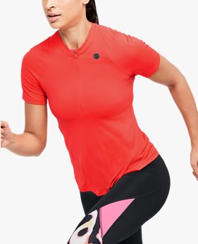 Women's UA RUSH™ Vent Short Sleeve