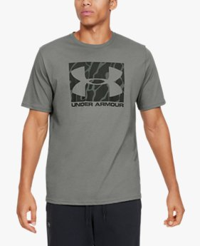 Men's UA Boxed Sportstyle Camo Fill Short Sleeve