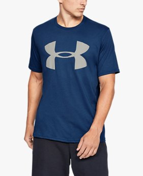 Men's UA Big Logo Reflective Short Sleeve