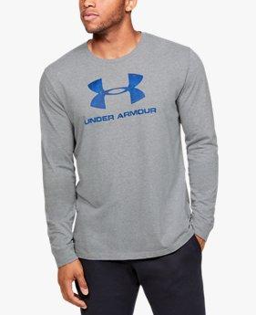 UAスポーツスタイル フィル ロゴ ロングスリーブ(トレーニング/MEN)