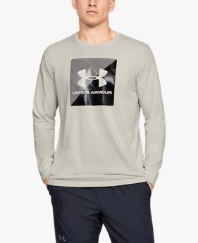 Men's UA Boxed Sportstyle Half Long Sleeve