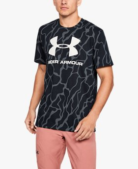 Men's UA Sportstyle Logo Printed Short Sleeve