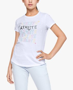 Girls' UA Athlete Graphic T-Shirt
